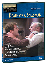 Arthur Miller's Death Of A Salesman on Dvd
