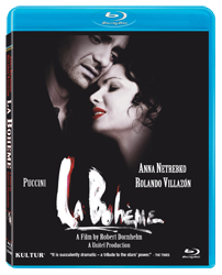 La Boheme Film Blu-ray - Netrebko and Villazon